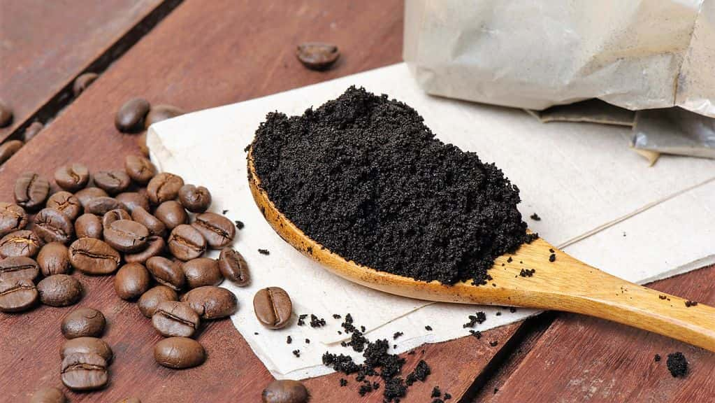 кофейная гуща для огорода